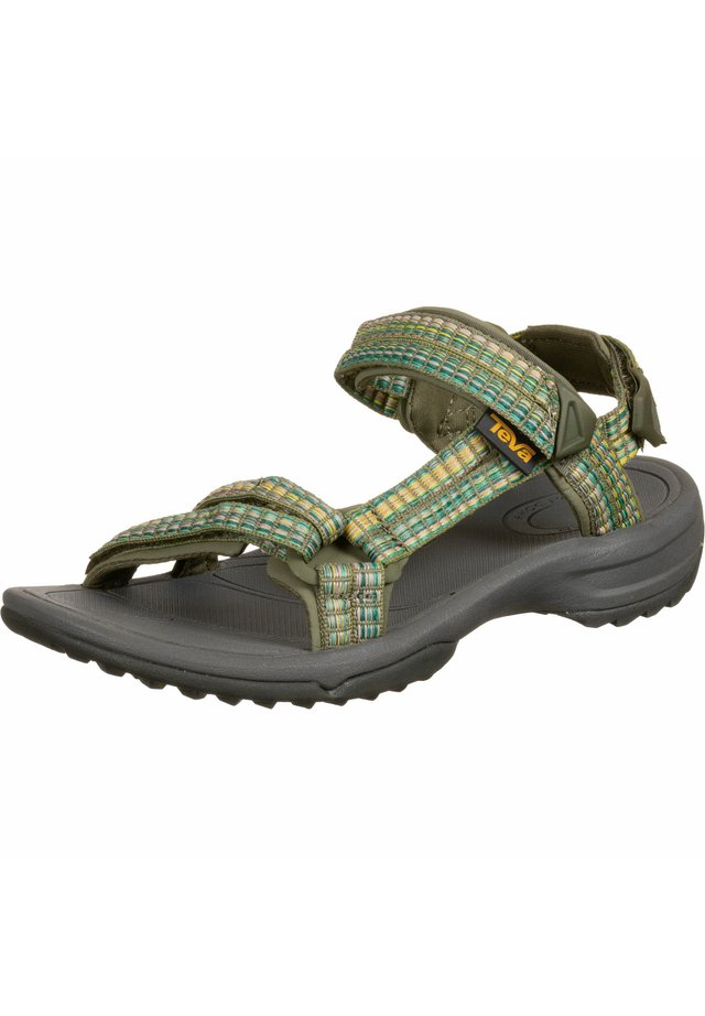 TERRA FI LITE - Walking sandals - burnt olive