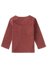 Noppies - Long sleeved top - mahoganey - 1