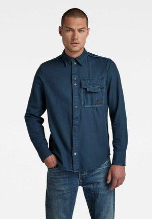 BOUND POCKET - Overhemd - luna blue gd