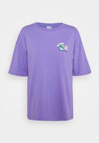 Puma - DOWNTOWN GRAPHIC - Print T-shirt - hazy blue - 6