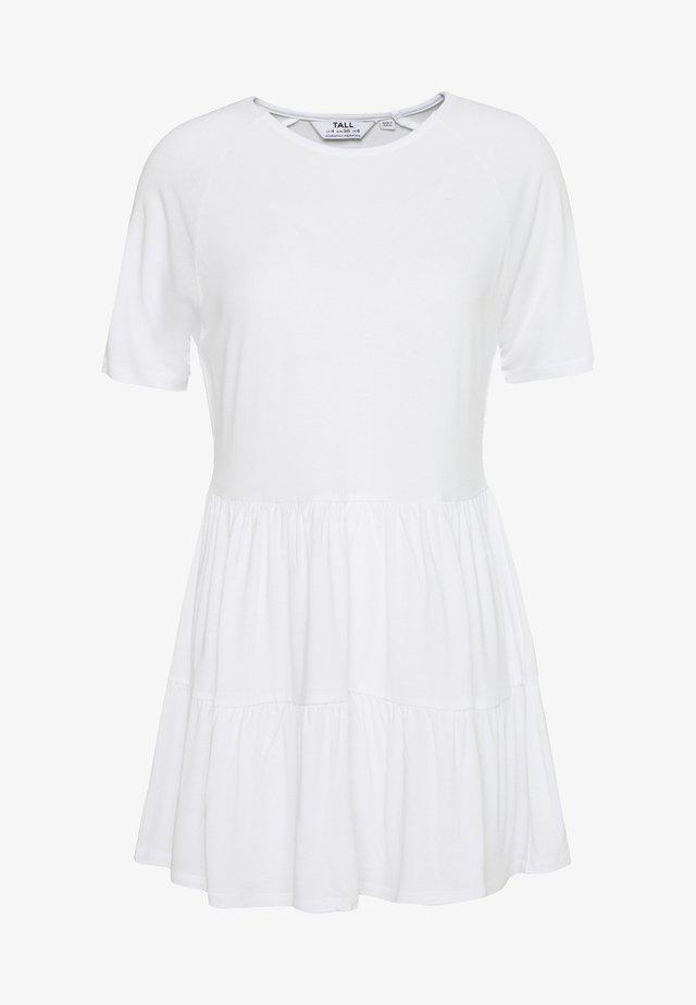 SMOCK - T-shirt basic - white