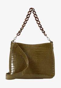 HVISK - AMBLE CROCO - Handbag - olive - 4