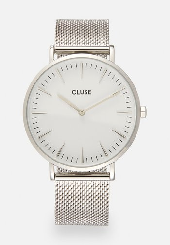 BOHO CHIC - Watch - silver-coloured/white