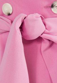 Bershka - MIT BALLONÄRMELN - Shirt dress - pink - 5
