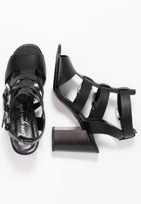 New Look - PENG - Sandály na vysokém podpatku - black - 3