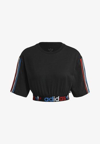 PRIMEBLUE ADICOLOR ORIGINALS RELAXED T-SHIRT - T-shirt print - black