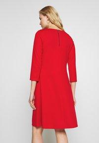Wallis - BUCKET POCKET SWING DRESS - Jersey dress - red - 2