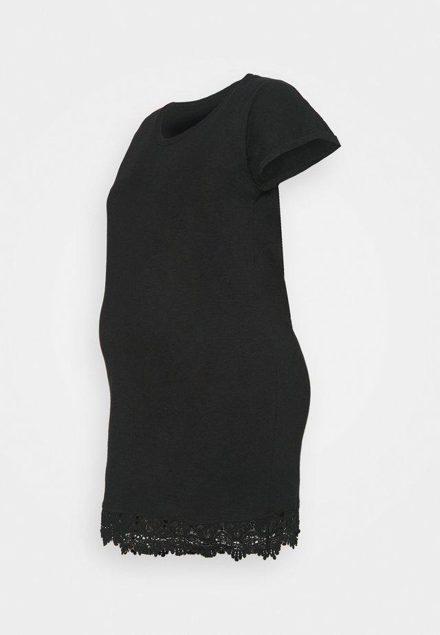 MLALETTA - Vestito di maglina - black