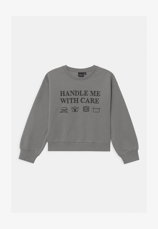 NLFOSINA - Sweatshirt - grey melange