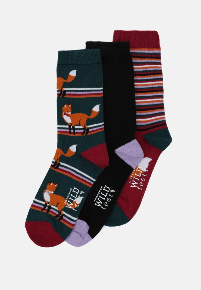 FOX SOCKS 3 PACK - Ponožky - multi-coloured
