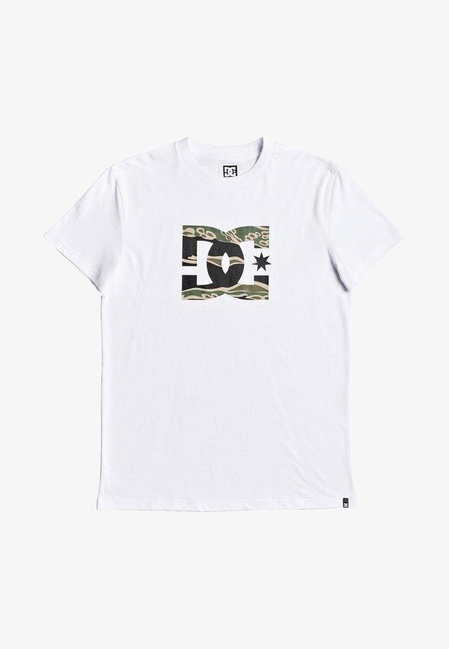 STAR - Print T-shirt - snow white
