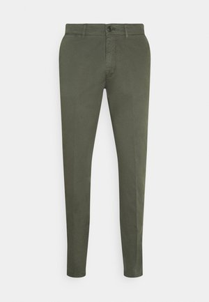 MAD - Trousers - mottled olive