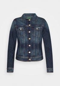 Benetton - JACKET - Denim jacket - mid blue - 4