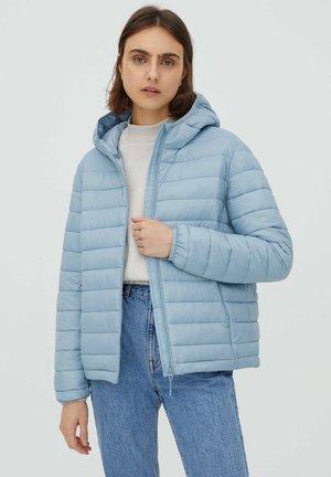 Winter jacket - mottled light blue