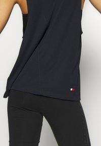 Tommy Sport - PERFORMANCE TANK LOGO - Sports shirt - blue - 5