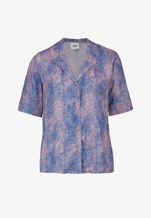 LIKO - Button-down blouse - blue