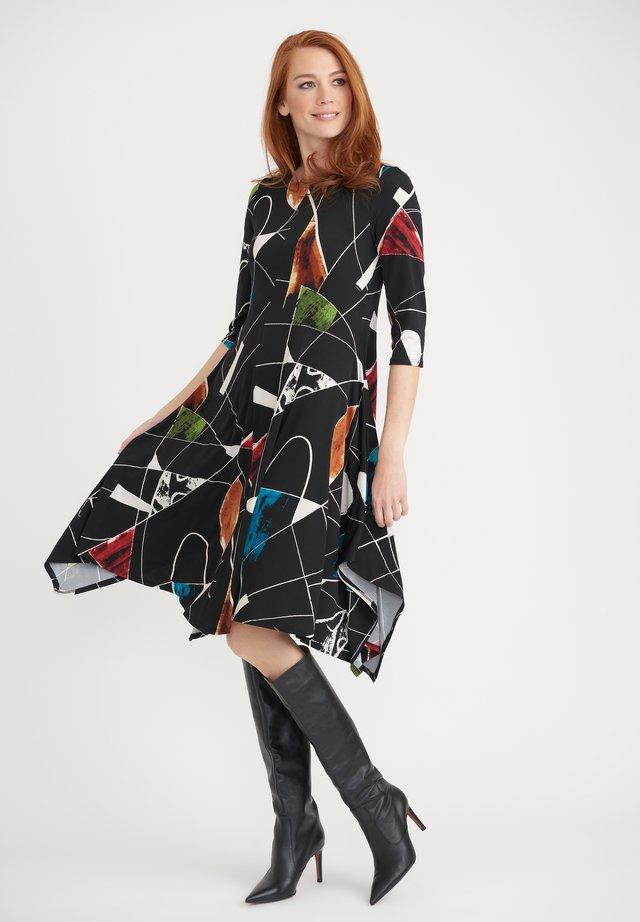 Day dress - schwarz/multi