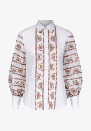 Skjorte - chocolate embroidery