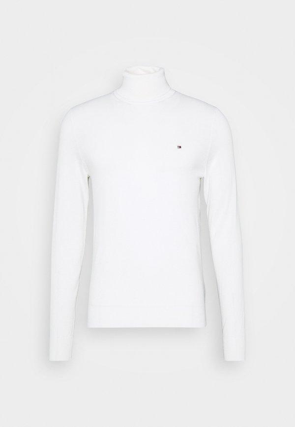 Tommy Hilfiger Tailored FINE GAUGE LUXURY ROLL - Sweter - moonglow/mleczny Odzież Męska CMUA