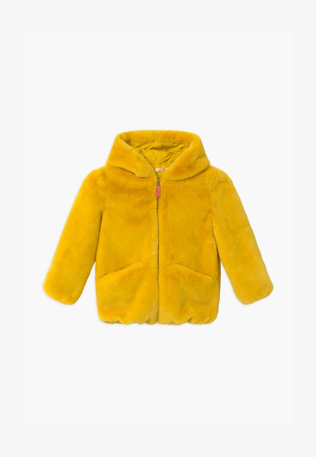 Winter jacket - straw yellow