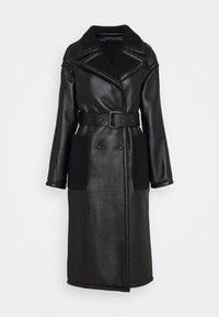 RORA AND BORG - Klasický kabát - black