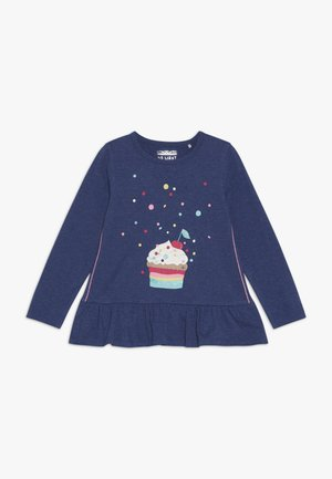 KID - Camiseta de manga larga - dark blue melange