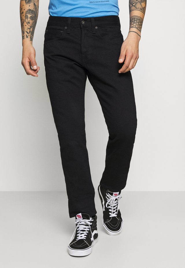 ED-55 REGULAR TAPERED - Jeans Straight Leg - black denim