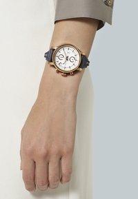 Fossil - ORIGINAL BOYFRIEND - Chronograph watch - blau - 0