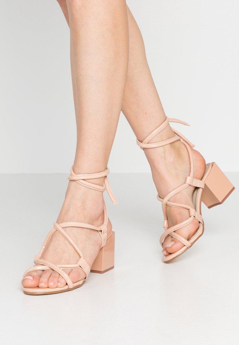Glamorous - Sandalen - nude