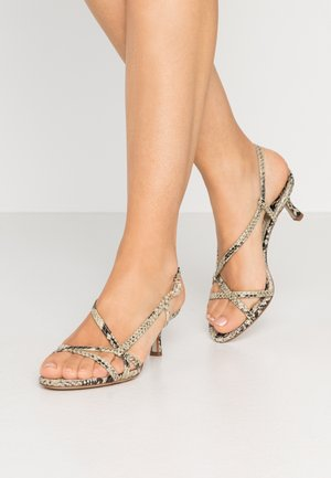 JUDIE PACIFIC SNAKE PRINT - Sandals - beach/multicolor