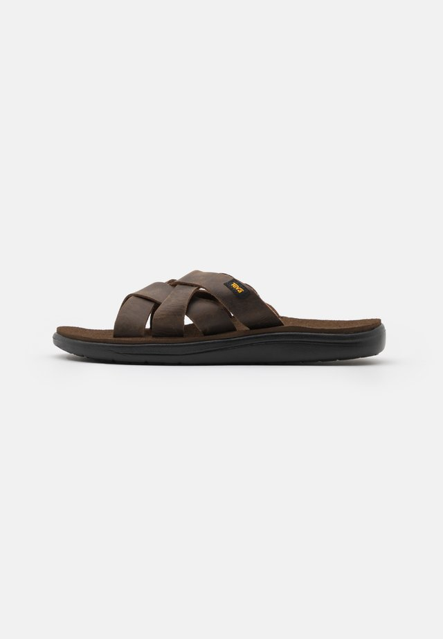 VOYA SLIDE - Walking sandals - carafe