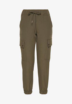 ONLGLOWING PANTS - Cargo trousers - kalamata
