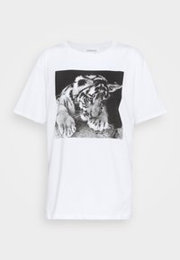 Even&Odd - Print T-shirt - white - 3