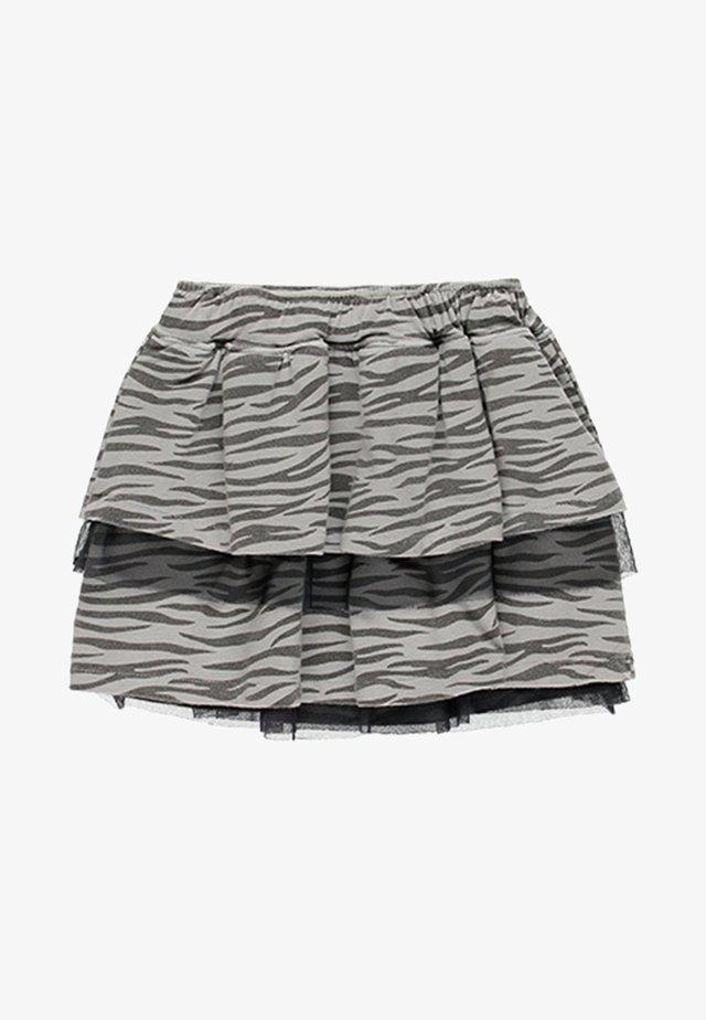 BAMBULA - Áčková sukně - grey