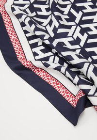 Tommy Hilfiger - MONOGRAM FRAME SQUARE - Foulard - dark blue/white - 3