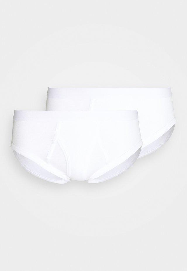 BRIEF 2 PACK  - Briefs - white