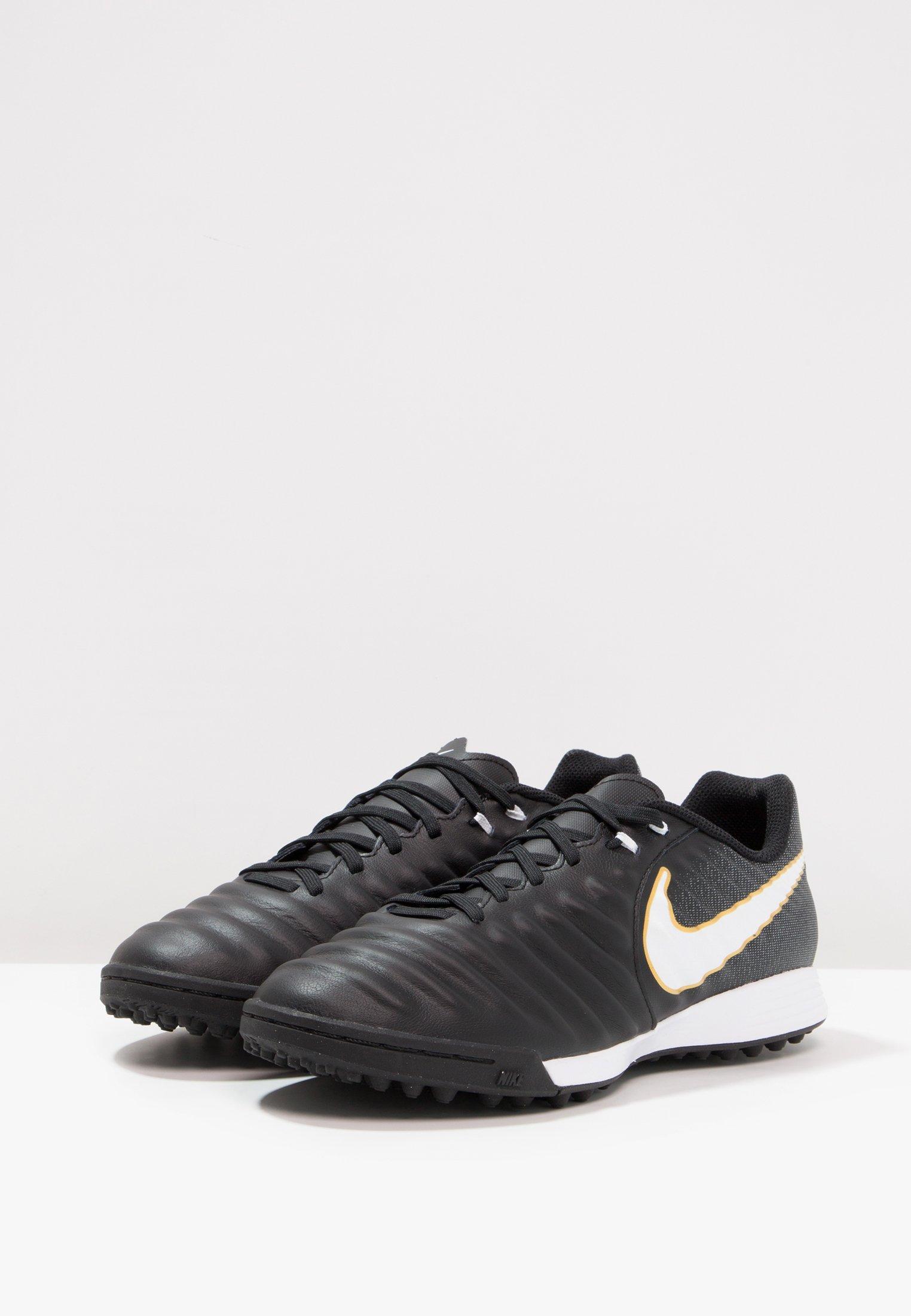 Nike Performance TIEMPOX LIGERA IV TF - Scarpe da calcetto con tacchetti - black/white | Scarpe Prezzo Speciale