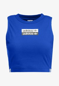 adidas Originals - CROP TANK - Top - collegiate royal - 3