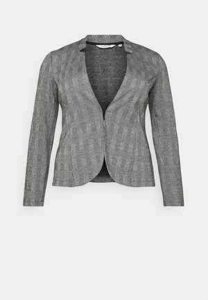 WITH CHECK - Blazer - black/white