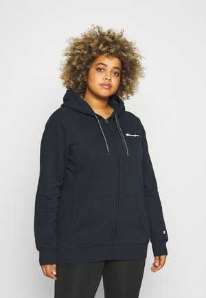 HOODED FULL ZIP - Zip-up sweatshirt - navy
