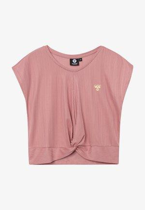 HMLLIV - Print T-shirt - ash rose