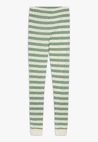 CeLaVi - BAMBOO STRIPE - Leggings - Trousers - elm green - 1
