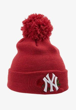 KIDS BOBBLE NEW YORK  - Bonnet - red