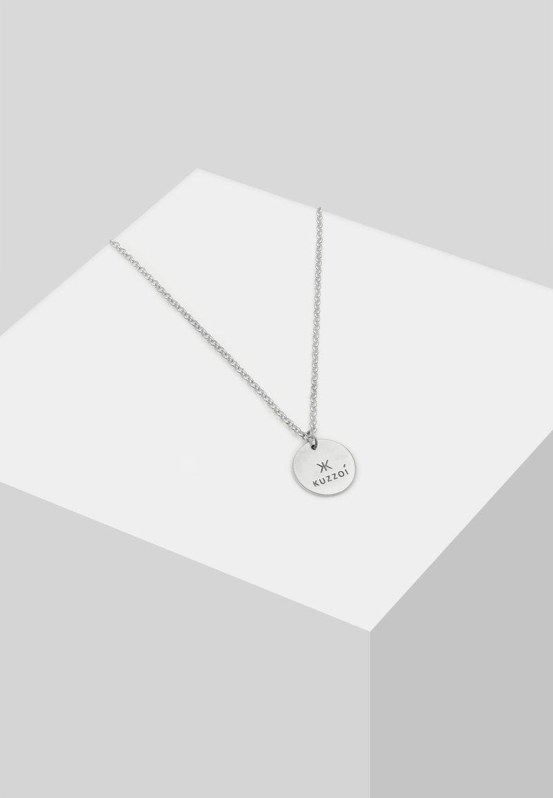 KUZZOI - Necklace - silver-coloured