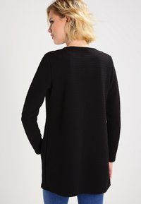Vila - VINAJA NEW LONG - Chaqueta de punto - black - 2