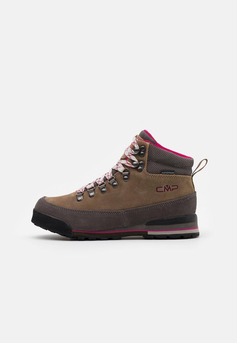 CMP - HEKA SHOES WP - Hiking shoes - biscotto/tortora