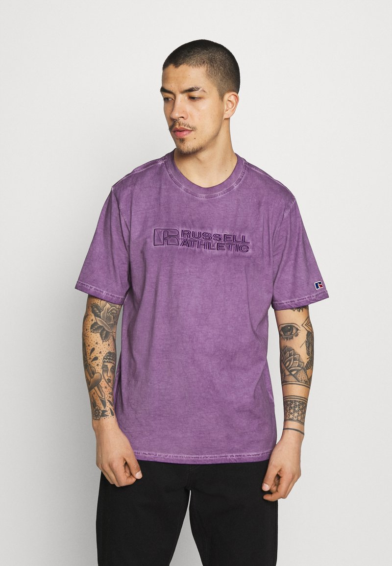 Russell Athletic Eagle R - NELSON - Print T-shirt - violet