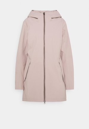 FOLKA - Waterproof jacket - sand rose