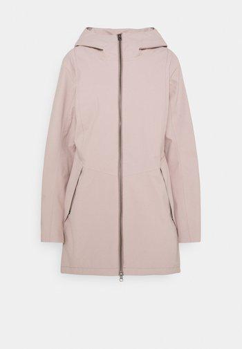 FOLKA - Waterproof jacket - sand rose