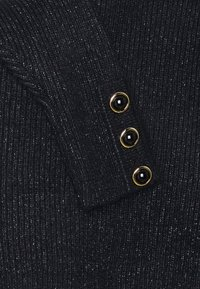 Esqualo - OVERSIZED BUTTONS - Svetr - black - 2